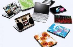 Nghề dán laptop: làm chơi ăn thật