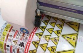 In, cắt bế tem nhãn decal dán hộp nhựa, ly, chén