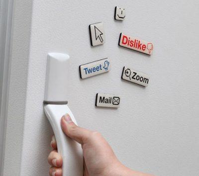 Dán tủ lạnh, máy giặt bằng decal nam châm dẻo