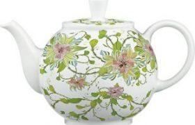 Decal nước trang trí bình trà