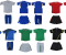 Decal nhiệt in logo màu ép áo bóng đá